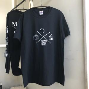 ロゴプリントT BLACK