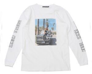 "KRHYME DENIMクライムデニム K20W07 CALI  ロングスリーブTシャツ ""CALI GIRL"" ラグジュアリー SERIES Tシャツ"