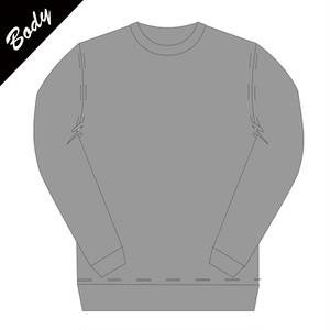 【BODY】カスタム用長袖Tシャツ