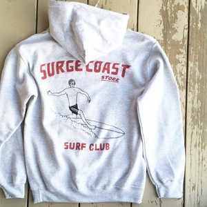 "Surge Coast Store ""Surf Club Pullover Parka"""