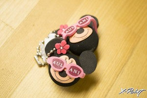 HAWAII限定 AULANI Minnie Key chain