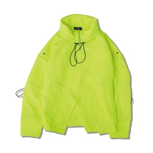 TRAFFIC NYLON PULLOVER / NEON YELLOW