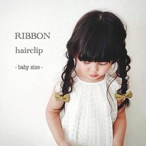 RIBBON hairclip for BABY / ベビー リボンヘアクリップ