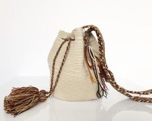 【予約 8/27発送分】ワユーバッグ (Wayuu bag) Basic line Mサイズ