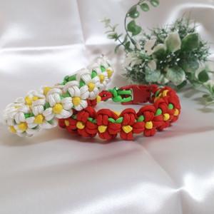パラコード デイジー(お花)のカラー