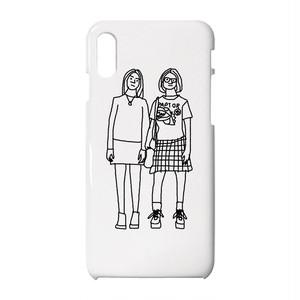 Enid & Rebecca #4 iPhoneケース