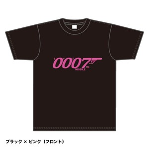 Tシャツ2018 (黒×ピンク・Sサイズ)