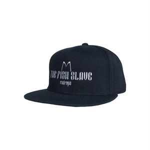 【THE FISH SLAVE SNAPBACK CAP】navy