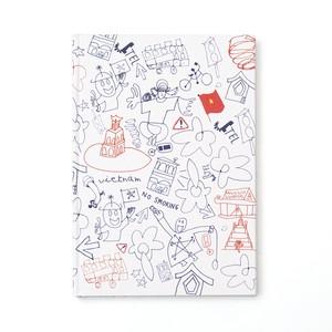 Tohe / 紙張りノート A5(874)