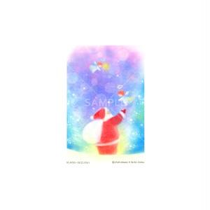 【選べるポストカード3枚セット】No.147 サンタクロースとエンジェル