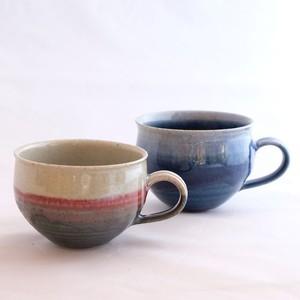 青&夕焼け色 マグカップ