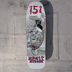 151skateboards / Kenji Kumeda Pro Model / 9.5×32inch / (24.13×81.3cm)