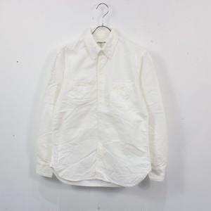 DAILY WARDROBE INDUSTRY / デイリーワードローブインダストリー | コットンワークシャツ | 0 | ホワイト