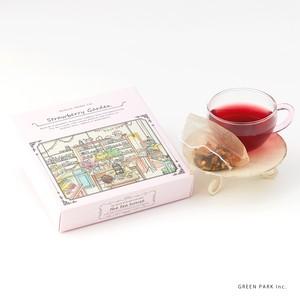 ストロベリーブレンド Strawberry Blend【オーガニックハーブティー / フルーツティー】The Tea House