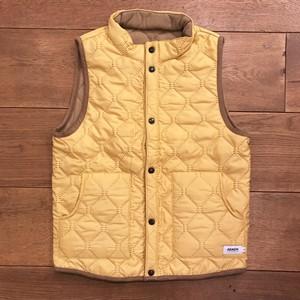 ARMEN 『Heat Quilting Vest(#NAM9984)』