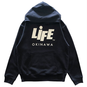 PROMOTION TEAM P/O HOODIE (NAVY) / LIFEdsgn