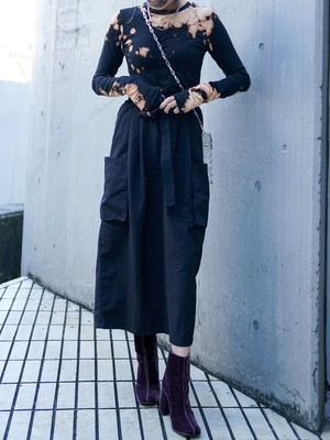 【WOMENS - 1 size】CARGO SKIRT / 2colors