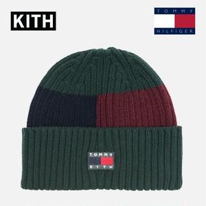超話題【KITH x TOMMY HILFIGER】ニット帽