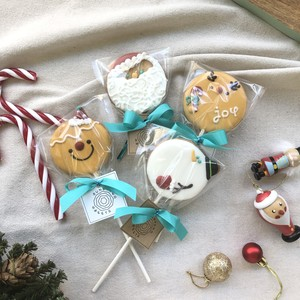 Holiday Cookie Pops