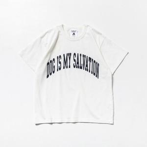 TACOMA FUJI RECORDS DOG IS MY SALVATION  designed by Shuntaro Watanabe WHITE