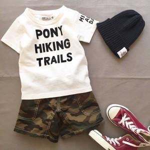 pony go round hike s/s tee 150cm