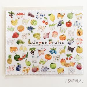 Lu*nyan Fruits マイクロファイバークロス