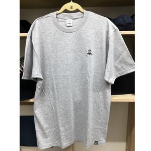 【新色!】レッツ剣道刺繍Tシャツ・オリジナルカタカナタグ付き/グレー