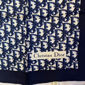 DIOR 1970's Scarf -Trotter-