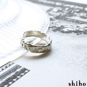 個性が光るシルバーリング【Melty ring -flat-(M)】