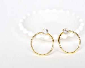 Round jewel pierce