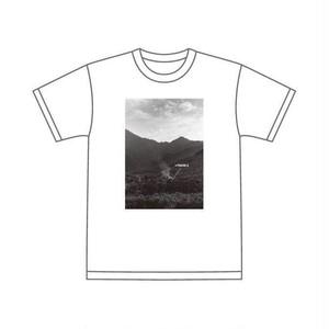 長島大三朗 × barTAKIBI Tシャツ (白) (黒)