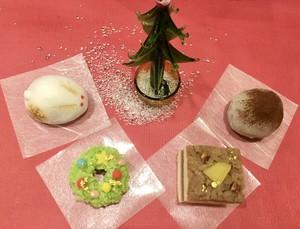 クリスマス和菓子4種セット