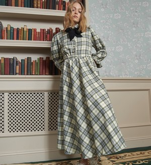 【 Sister Jane 】Humble Check Midi Dress