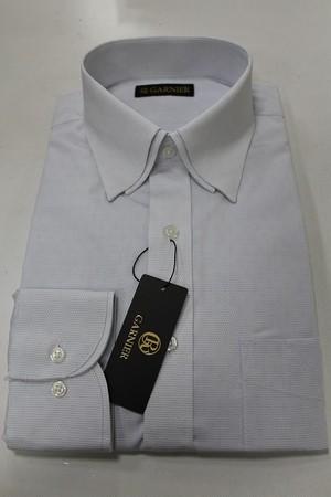 GARNIER ガルニエ 2枚襟ドレスシャツ オフ