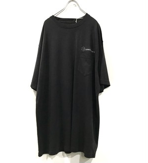 【再入荷】connecter Tokyo original pocket tee (old black)