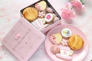 【クッキー缶】アイシングクッキー・焼き菓子詰め合わせ