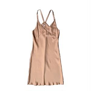VIOLETTE ROOM : SLIP DRESS (COPPER)