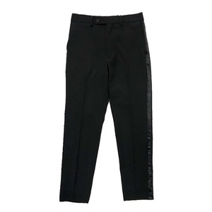 ALLEGE SIDE LINE SLACKS BLACK