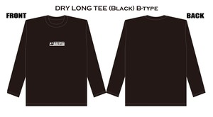 DRY LONG TEE(Black)B-type