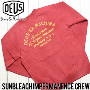 [クリックポスト対応] Deus Ex Machina デウスエクスマキナ SUNBLEACH IMPERMANENCE CREW スウェットトレーナー DMF88401B