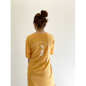 WHOO-AA・Swimming Tシャツワンピース(W1S3010)