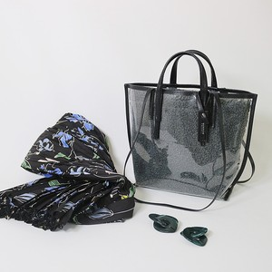 CECILY MINI TWOWAY D.GREY BOA / black leather【MORROW】