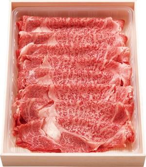 W-1 和妃牛 すき焼・しゃぶしゃぶ用ローススライス肉(600g)