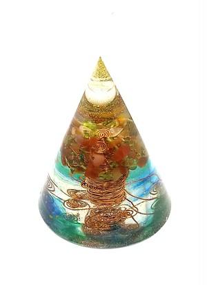 生命の樹【円錐型オルゴナイト】