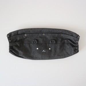 つみきどうぶつの抱っこ紐収納カバー エルゴ基準サイズ 紺デニム