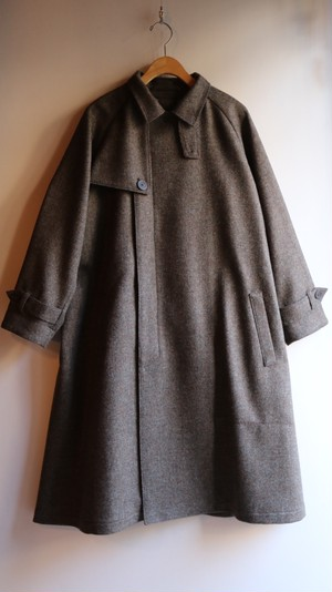 ASEEDONCLOUD/アシードンクラウド Father's Coat/ファザーズ・コート Earth herringbone #192101