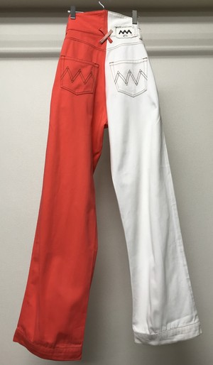 ALEX MULLINS BI COLOR TROUSERS