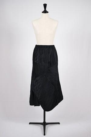 【BELPER】pleated skirt-black