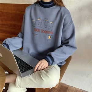 キックスクータープリントセーター