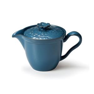 「リアン Lien」ティーポット 370ml ブルー 美濃焼 267849